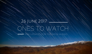 AKE's Ones to Watch are selected by our regional experts to highlight the most important developments from around the world each week