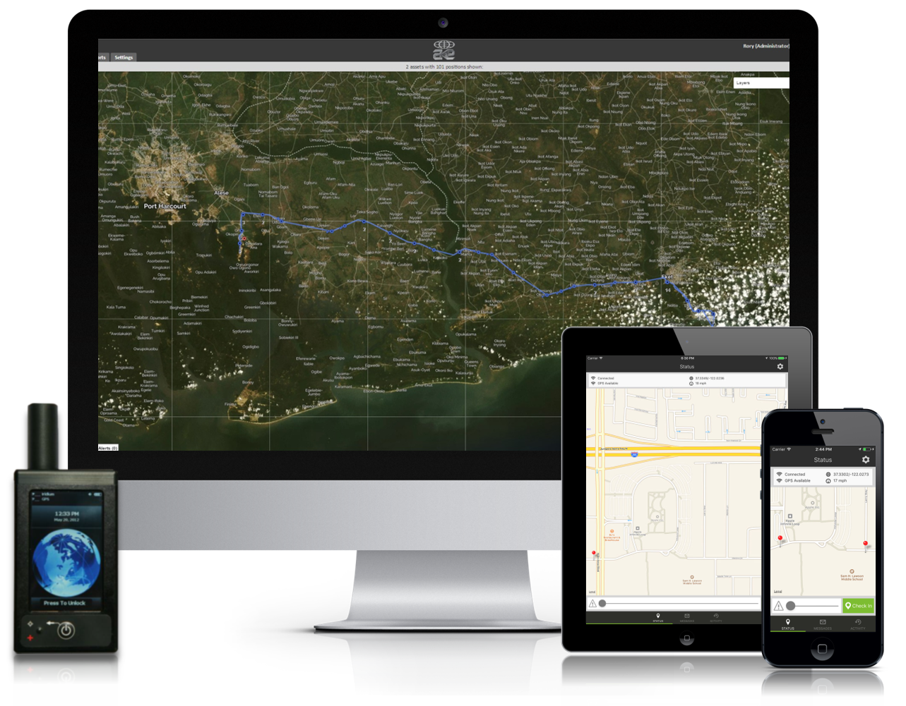 satellite tracking devices, GPS tracker, personal tracking device, iridium tracking, tracking software