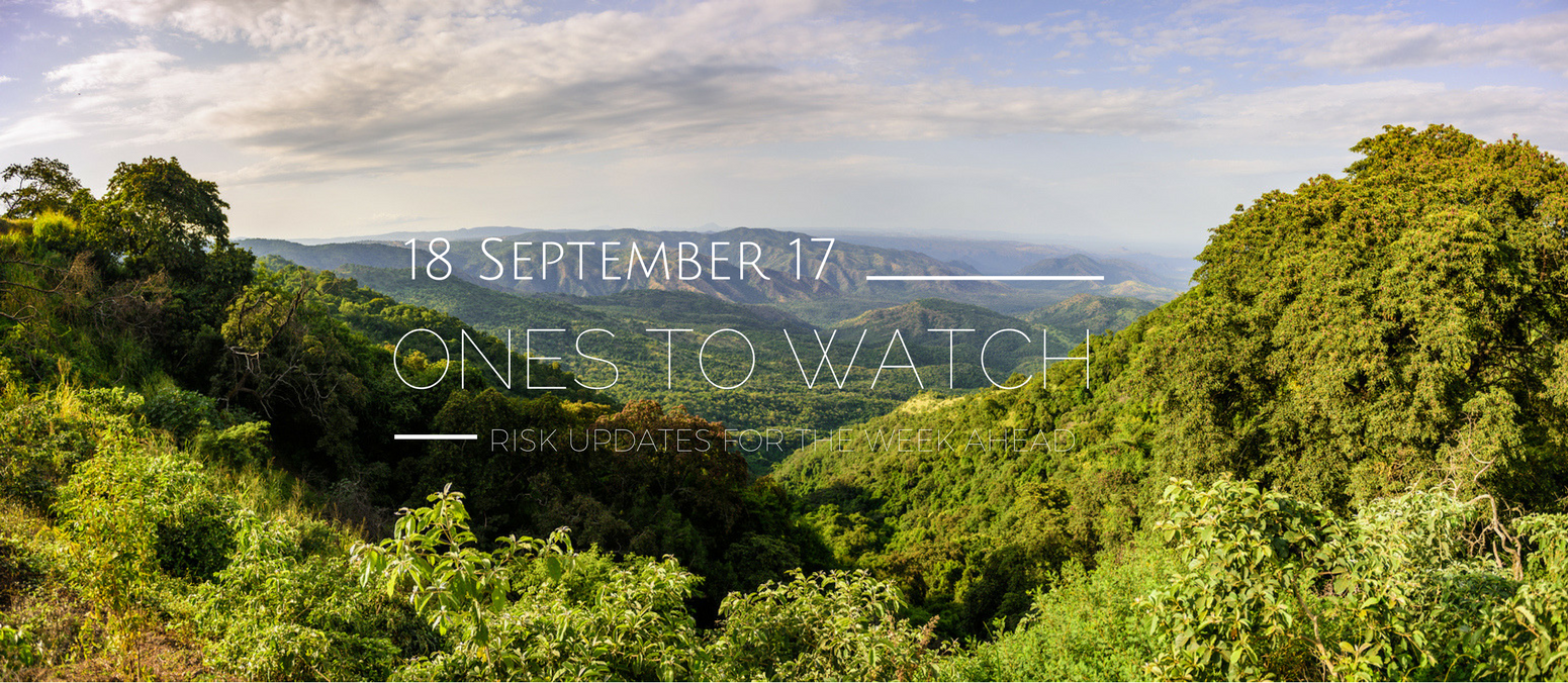 Ones to Watch, 18 September 2017