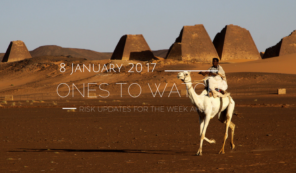 Ones to Watch, 8 January 2018