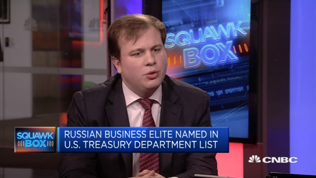 AKE Analyst on CNBC: 'Oligarch list' a sigh of relief for many in Russia