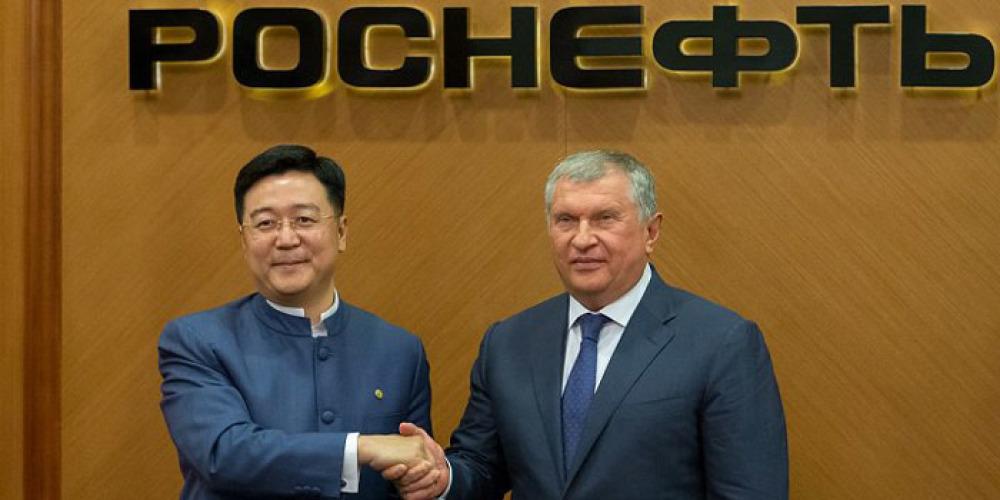 Russia - China: Beijing's option on Rosneft - AKE International