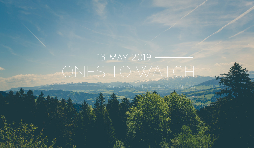 Ones to Watch, 13 May 2019