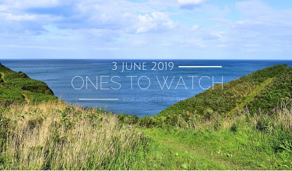 Ones to Watch, 3 June 2019