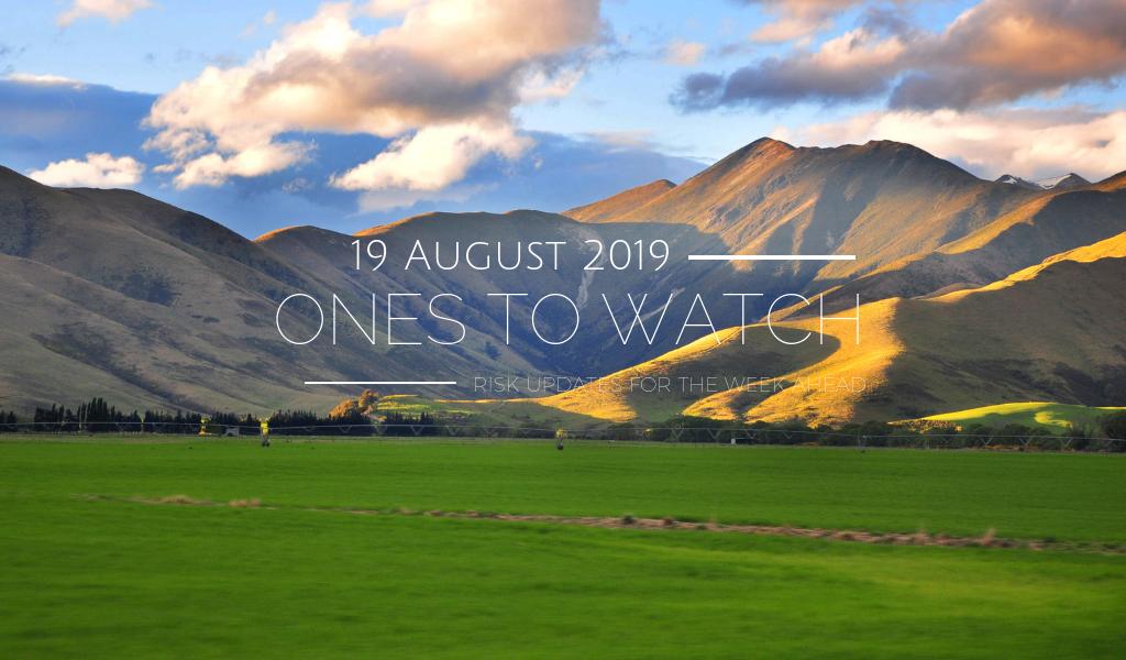 Ones to Watch, 19 August 2019