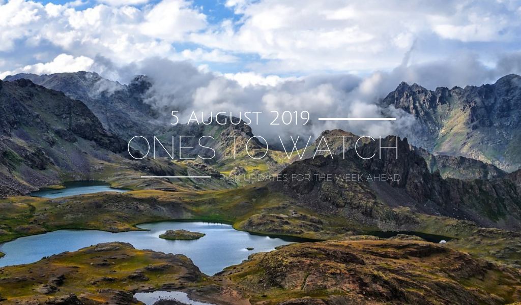 Ones to Watch, 5 August 2019