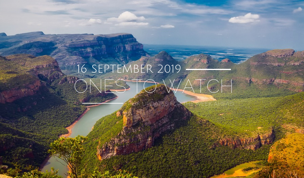 Ones to Watch, 16 September 2019