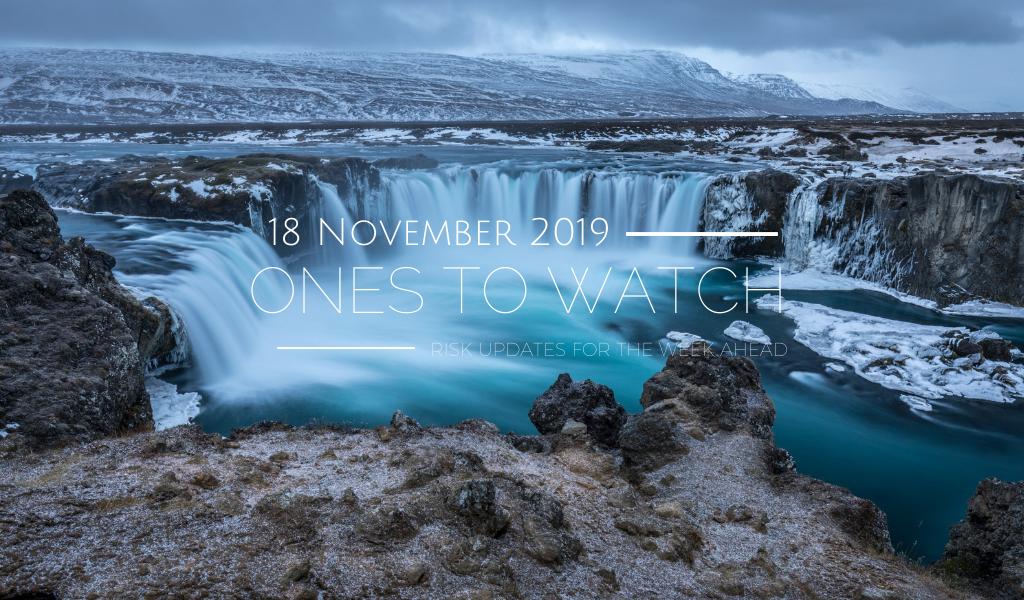 Ones to Watch, 18 November 2019