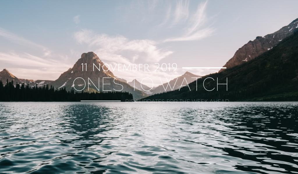 Ones to Watch, 11 November 2019