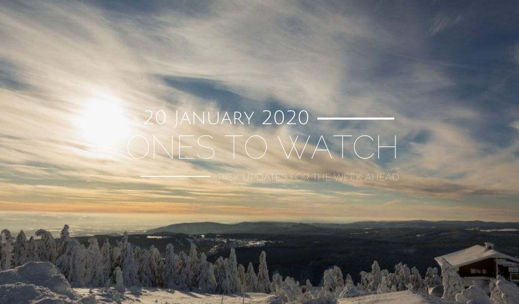 Ones to Watch, 20 January 2020